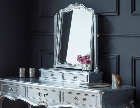 Alexandria Silver French Bedroom Furniture