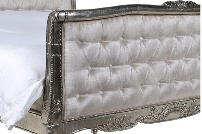 Argentine Silver Metal Furniture