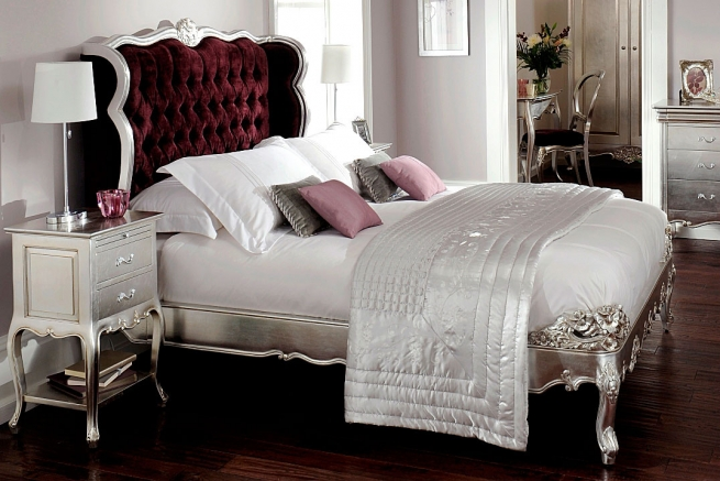 Cristal French Silver Leaf Furniture