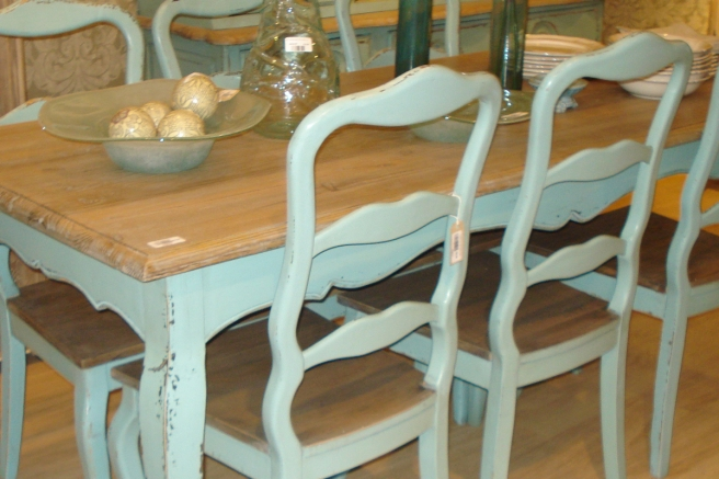 Etienne Turquoise Dining Furniture