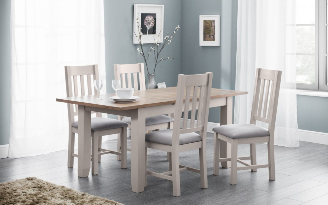 Malvern Off-Grey Dining Room Furniture
