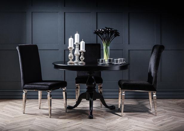Rochelle Noir French Furniture Collection