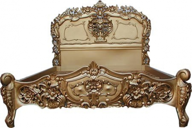 Rococo Gold French Bedroom Furniture