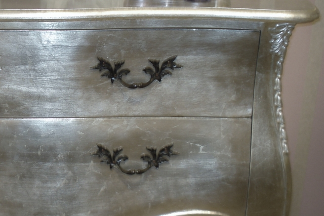 Tiffany Silver Leaf French Furniture