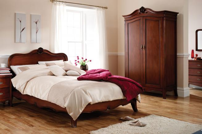 Antoinette French Sleigh Bedroom Furniture