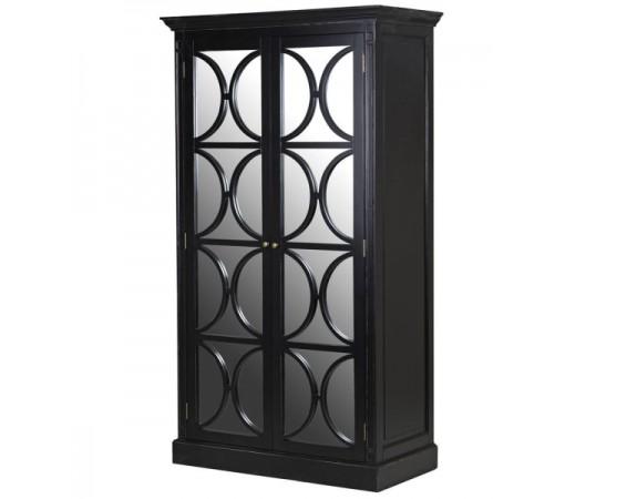 Black Mirrored Wardrobe