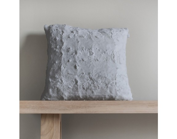 Stellan Fur Cushion Grey