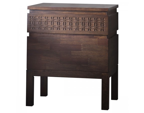 Manhattan Retreat 2 Drawer Bedside