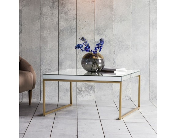 Pippard Mirrored Coffee Table