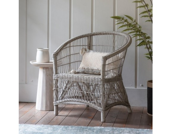 French Rustic Outdoor Armchair