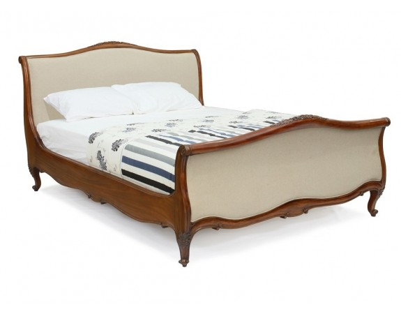 Alexander French Louis XV Upholstered Bed