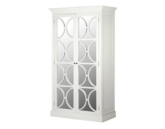 Ashwell Classic White Mirrored Wardrobe