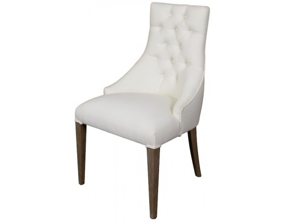 Louis French Buttoned Back Dining Chair