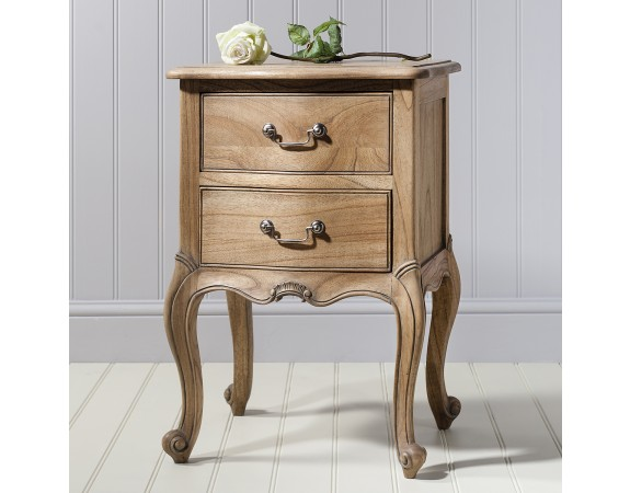 Charlotte French Bedside Table