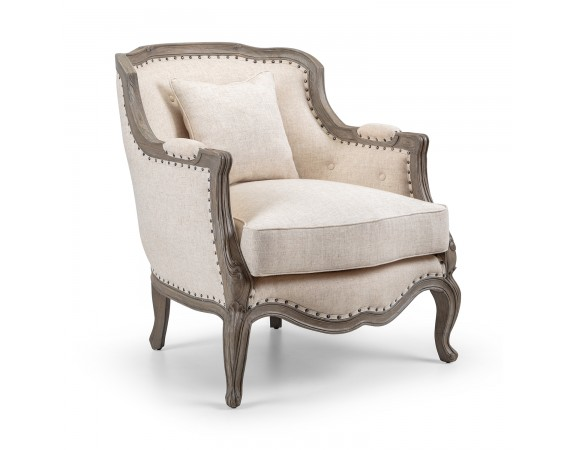 Dorset Contemporary French Upholstered Armchair