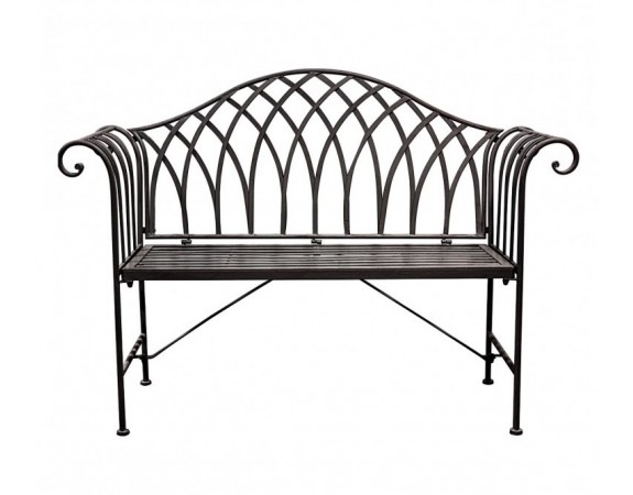 Duchess Outdoor Bench Noir