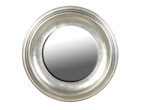 Fleur Silver Round French Wall Mirror