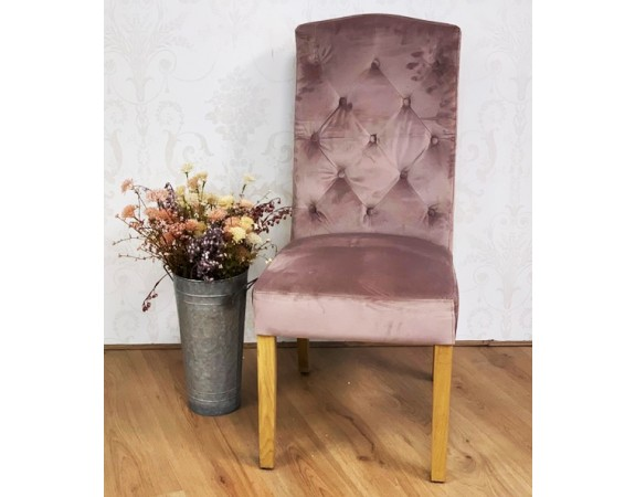 French Rose Dining Chair