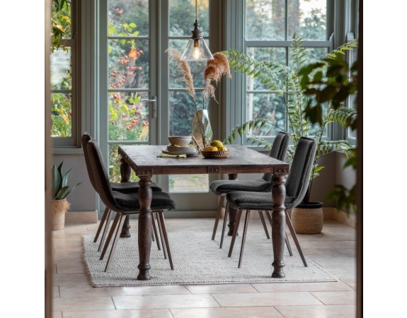 Wooden French Dining Table