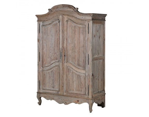 Giselle Reclaimed Pine French Armoire