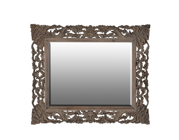 Giselle Reclaimed Pine French Carved Mirror
