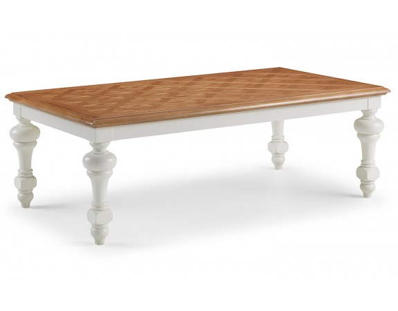 Gloucester Coffee Table With Parquet Top
