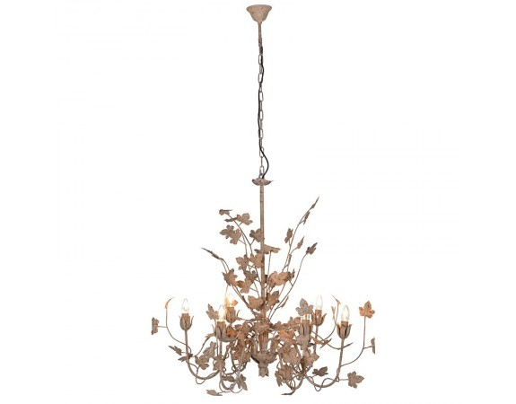 Gold Leaf Chandelier