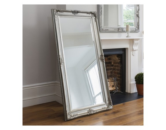 Harrow Silver Leaner French Style Mirror