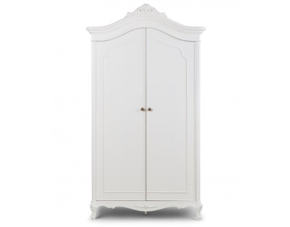 Ivory French Inspired Double Wardrobe
