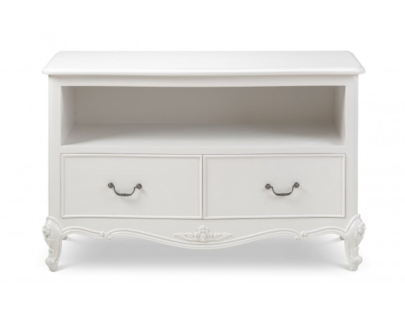 Ivory French Inspired TV Unit