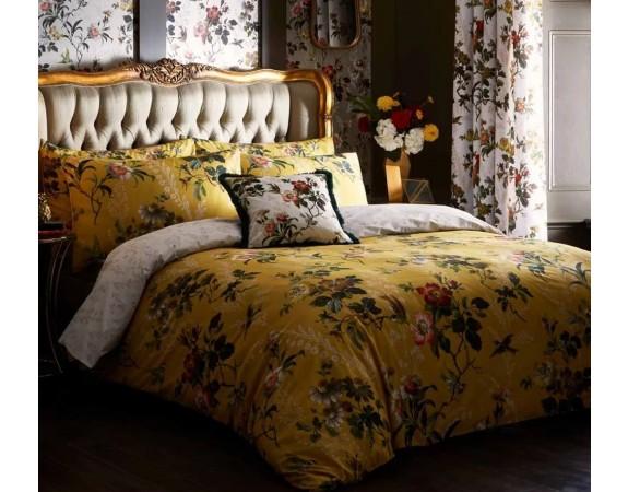 Oasis Leighton Ochre Bed Linen Set