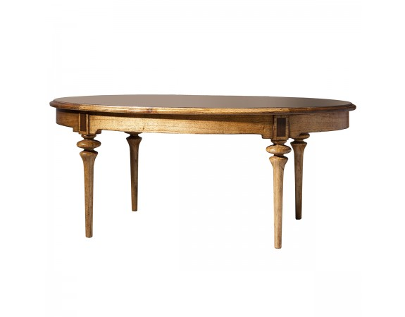 Lille Oval Coffee Table