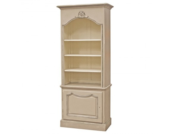 Loire Light Grey French Louis XV Bookcase