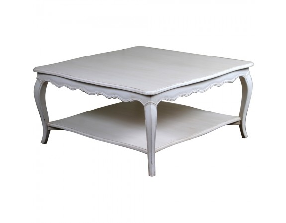 Louis French Square Coffee Table