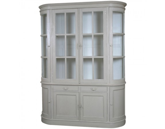 Louis French Style Large Showcase