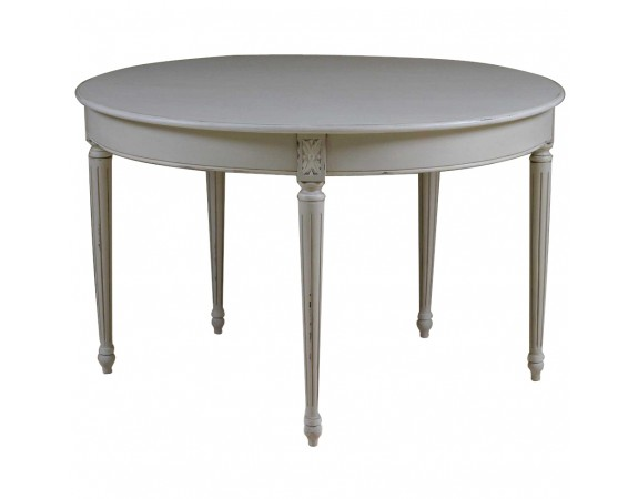 Outstanding Louis French Style Round Dining Table Beutiful Home Inspiration Xortanetmahrainfo