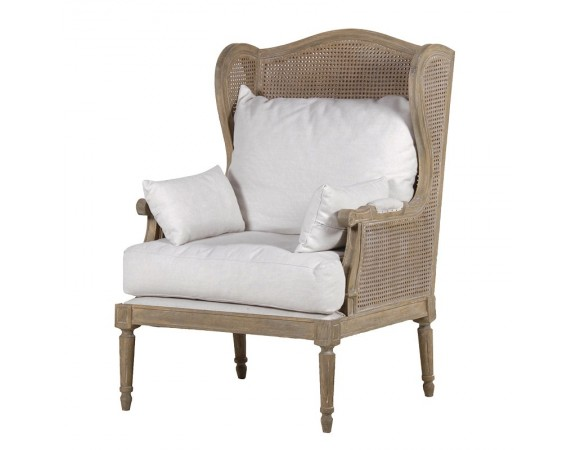 Midland Oak Bergere Chair