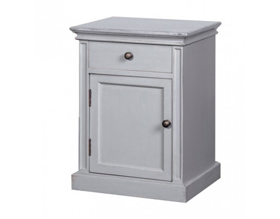 Chamonix Grey Pot Cupboard