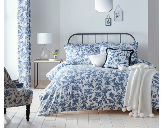 Oasis Amelia Blue Bed Linen Set