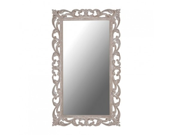 Ornate Rectangular Mirror