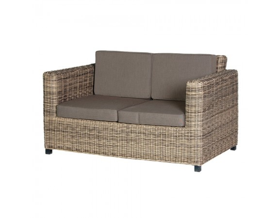Outdoor Rattan Two Seat Sofa