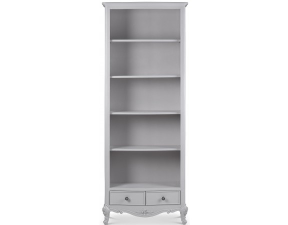 Parisian Grey French Inspired Tall Bookcase