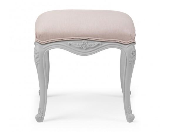 Parisian French Grey Dressing Table Stool