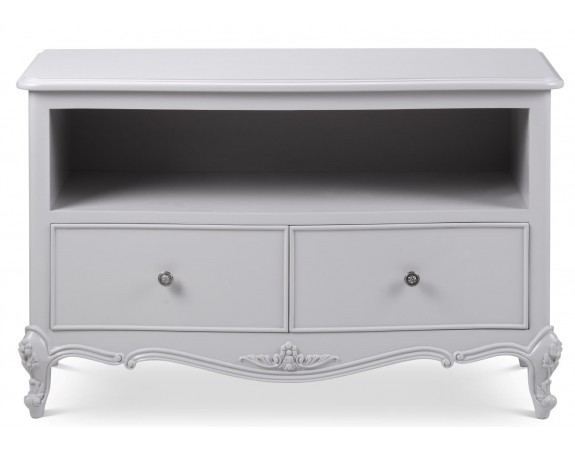 Parisian Grey French Style TV Cabinet
