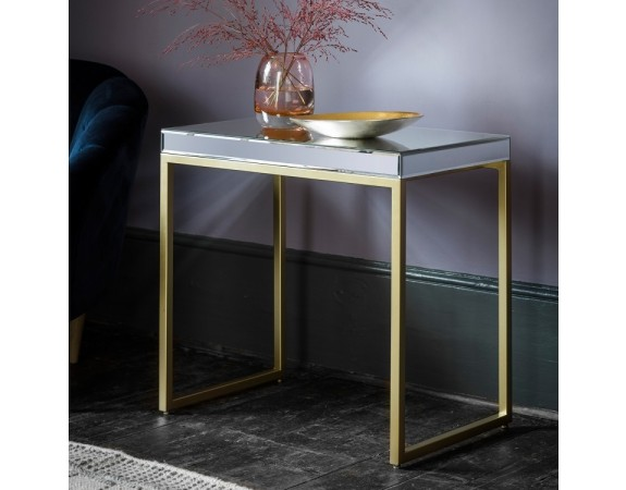 Pippard Mirrored Side Table