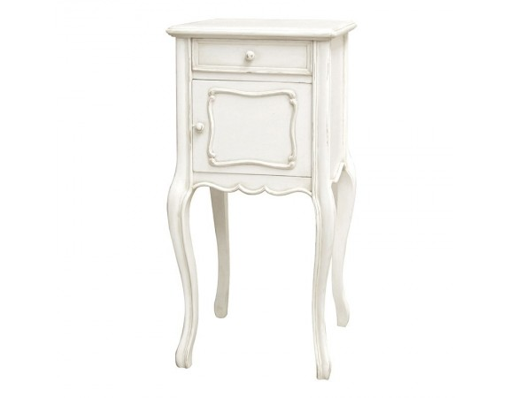 Antique White Provencale French Pot Cupboard
