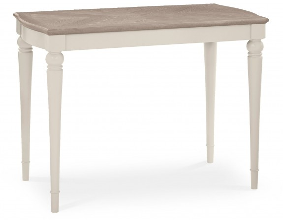 Richmond Contemporary Washed Grey Top Bar Table