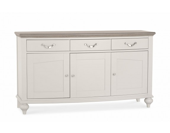 Richmond Contemporary Washed Oak Large Sideboard