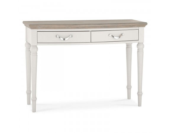 Richmond French Contemporary Washed Oak Top Dressing Table