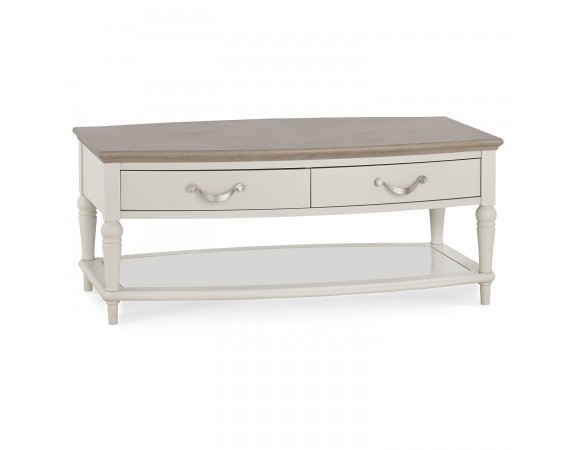 Richmond French Coffee Table with 2 Drawers
